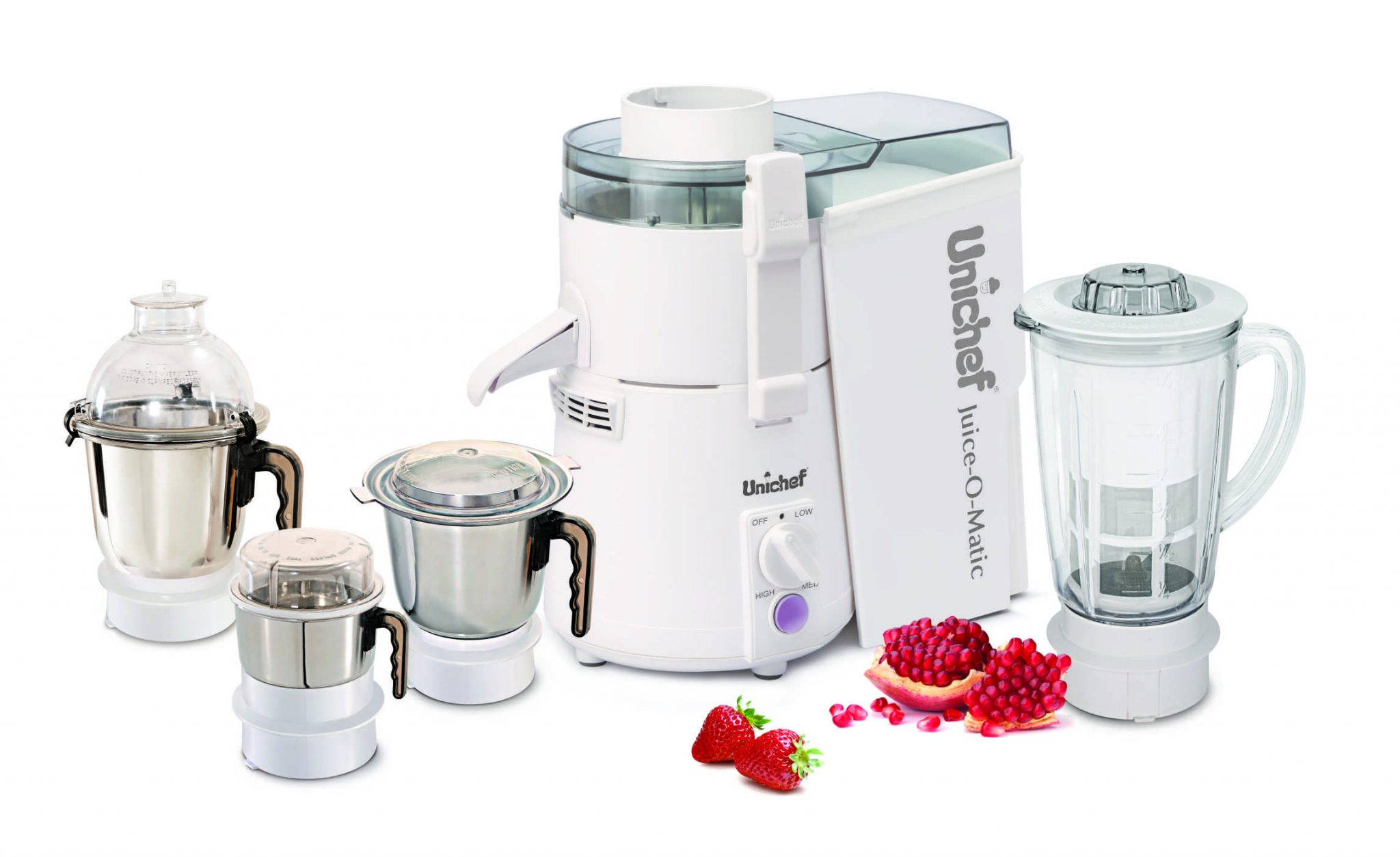 All In One Kitchen Appliance.All In One Juicer Mixer Grinder Blender Unichef